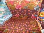 tissu batik coloré