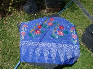 Mon 1er tissu batik !