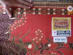 Détail du tissu batik UJ-12-RG