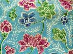Tissu batik HA-LAY-BL