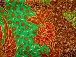 Sarong batik HA-ROUE vert