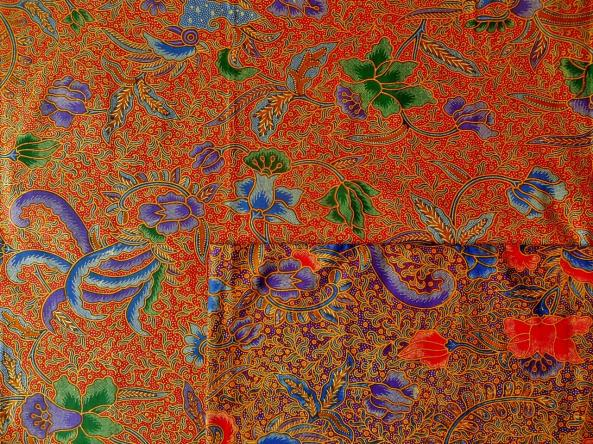 Tissu batik traditionnel HA-TRADI2