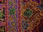 Sarong batik RJ-8973 violet