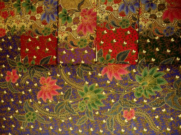 Tissu traditionnel batik RJ-617