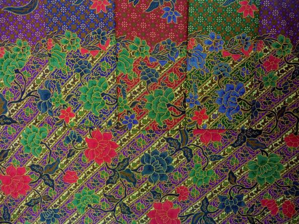 Tissu batik traditionnel RJ-619